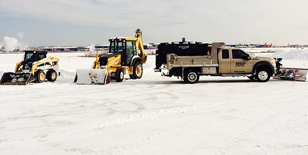 Snow Removal at BWI